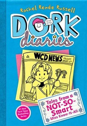 DORK DIARIES 5 TALES FROM A NOT-SO SMART MISS -HARDCOVER-