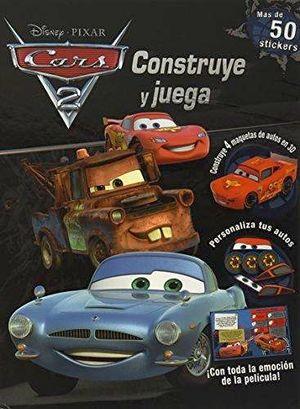 CARS 2  -CONSTRUYE Y JUEGA-       (MAS DE 50 STICKERS)