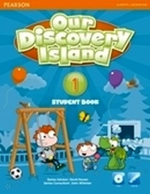 OUR DISCOVERY ISLAND 1 STUDENT BOOK  W/CD-ROM + COD.ONLINE