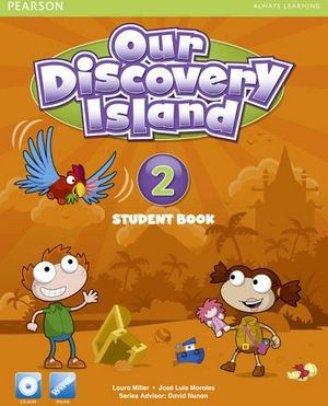OUR DISCOVERY ISLAND 2 STUDENT BOOK  W/CD-ROM + COD.ONLINE