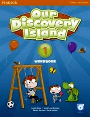 OUR DISCOVERY ISLAND 1 WORKBOOK  W/AUDIO CD.