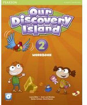 OUR DISCOVERY ISLAND 2 WORKBOOK  W/AUDIO CD                     *