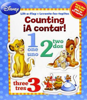 DISNEY -A CONTAR/COUNTING- (LIFT A FLAP/LEVANTA LAS TAPITAS)