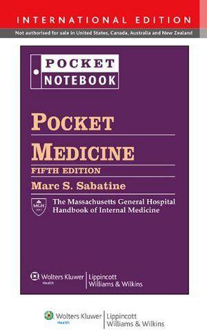 POCKET MEDICINE 5ED. THE MASSACHUSETTS GENERAL HOSPITAL HAND.(IE)