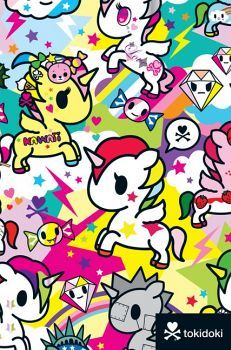 TOKIDOKI UNICORNO FLEXI JOURNAL