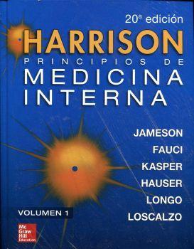 HARRISON PRINCIPIOS DE MEDICINA INTERNA 20ED. 2VOL.