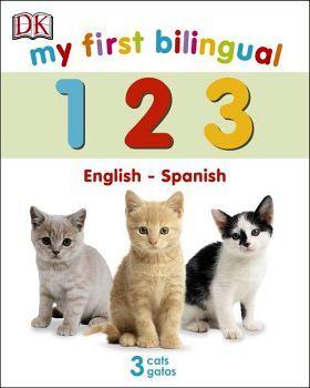 MY FIRST BILINGUAL 1,2,3 - ENGLISH-SPANISH - (CARTONE)