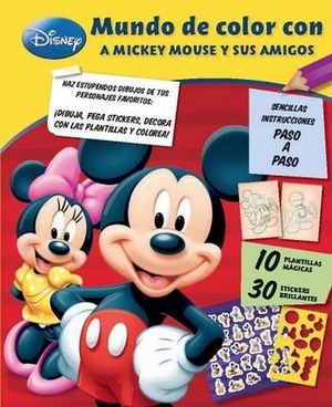 DISNEY           -MUNDO DE COLOR- (MICKEY MOUSE Y SUS AMIGOS/ESTU
