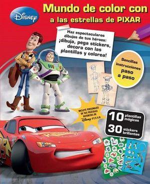 DISNEY -MUNDO DE COLOR- LAS ESTRELLAS DE PIXAR- (ESTUCHE)