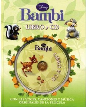BAMBI                             (LIBRO Y CD)