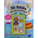 MI BIBLIA -LIBRO DE PASATIEMPOS- (6 STICKERS C/RELIEVE)
