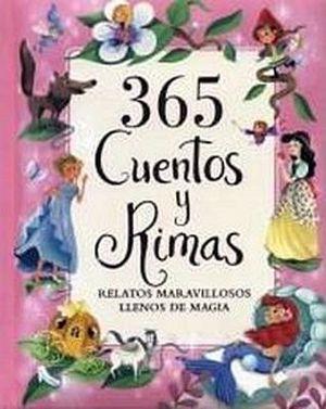 365 CUENTOS Y RIMAS                       (EMPASTADO/ROSA)