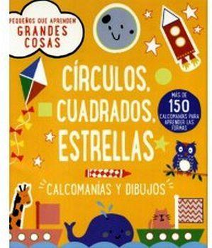 CIRCULOS, CUADRADOS, ESTRELLAS -CALCOMANIAS Y DIBUJOS-