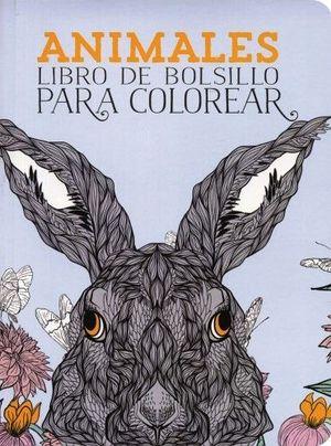 ANIMALES -LIBRO DE BOLSILLO P/COLOREAR-