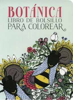 BOTANICA -LIBRO DE BOLSILLO P/COLOREAR-