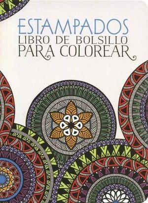 ESTAMPADOS -LIBRO DE BOLSILLO P/COLOREAR-