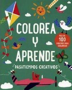 COLOREA Y APRENDE    -PASATIEMPOS CREATIVOS-