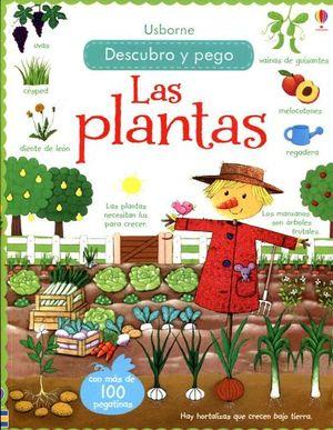 DESCUBRO Y PEGO -LAS PLANTAS-