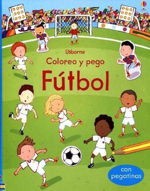 COLORES Y PEGO -FUTBOL-