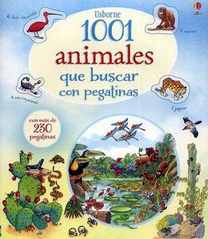 1001 ANIMALES QUE BUSCAR    (LIBRO C/PEGATINAS)