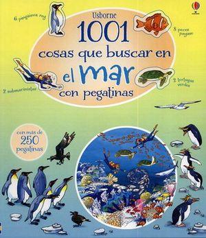 1001 COSAS QUE BUSCAR EN EL MAR     (LIBRO C/PEGATINAS)