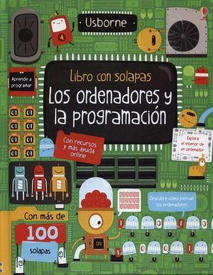 LIBRO CON SOLAPAS -LOS ORDENADORES Y LA PROGRAMACION-