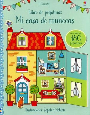 LIBRO DE PEGATINAS -MI CASA DE MUÑECAS-