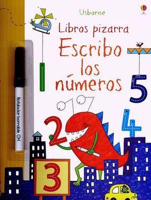 LIBROS PIZARRA -ESCRIBO LOS NUMEROS- (C/MARCADOR)