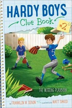 HARDY BOYS CLUE BOOK # 2: THE MISSING PLAYBOOK
