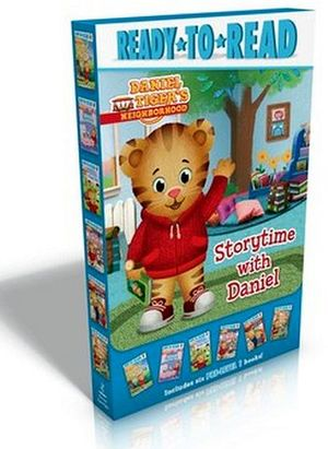 DANIEL TIGER STORYTIME BOX 6 BOOKS