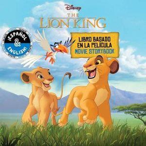 DISNEY THE LION KING MOVIE STOBYBOOK/ LIBRO BASADO EN LA PELICULA