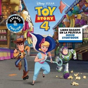 DISNEY PIXAR TOY STORY 4 MOVIE STORYBOOK