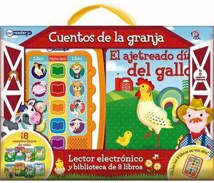 CUENTOS DE LA GRANJA -LEC. ELECTRONICO Y BIBLI. DE 8 LIBROS-