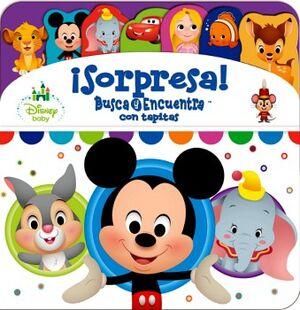 DISNEY BABY -¡SORPRESAS! BUSCA Y ENCUENTRA CON TAPITAS-