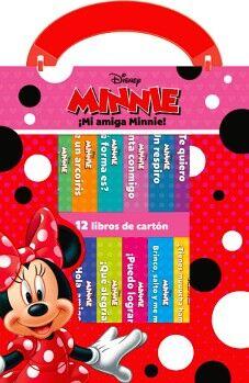 DISNEY MINNIE -¡MI AMIGA MINNIE!- (C/12 LIBROS DE CARTON)