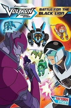VOLTRON # 2: BATTLE FOR THE BLACK LION