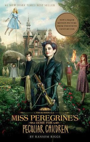 MISS PEREGRINE'S HOME FOR PECULIAR CHILDREN   -MOVIE TIE-IN-