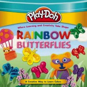 PLAY-DOH: RAINBOW BUTTERFLIES