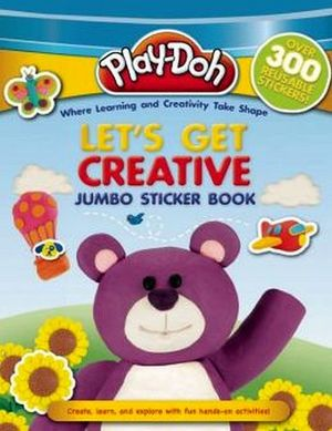 PLAY-DOH: LET'S GET CREATIVE JUMBO STICKER BOOK