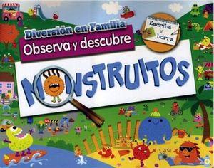 DIVERSION EN FAMILIA -OBSERVA Y DESCUBRE MOUNSTRITOS- (ESC.Y BORR