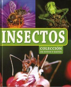 COLECCION DE FOTOS Y DATOS -INSECTOS-     (EMPASTADO)