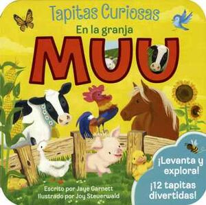 TAPITAS CURIOSAS -EN LA GRANJA MUU-       (CARTONE)