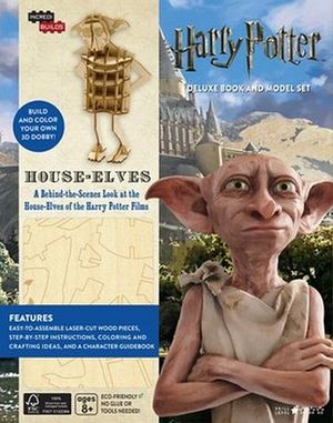 INCREDIBUILDS: HARRY POTTER HOUSE-ELVES DELUXE MODEL & BOOK SET