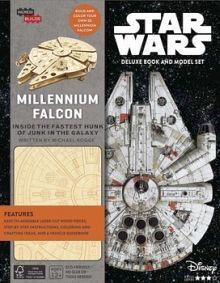 INCREDIBUILDS: STAR WARS MILLENNIUM FALCON DELUXE BOOK & MODEL
