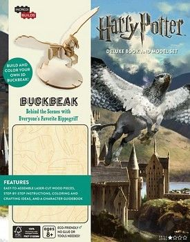 INCREDIBUILDS: HARRY POTTER BUCKBEAK DELUXE BOOK & MODEL SET