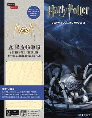 INCREDIBUILDS: HARRY POTTER ARAGOG DELUXE BOOK & MODEL SET
