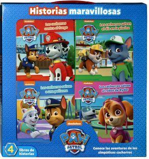 PAW PATROL -HISTORIAS MARAVILLOSAS-       (C/4 LIBROS)