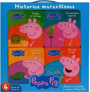PEPPA PIG -HISTORIAS MARAVILLOSAS-        (C/4 LIBROS)
