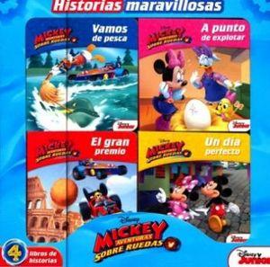 HISTORIAS MARAVILLOSAS -MICKEY AVENTURAS SOBRE RUEDAS-(C/4 LIBROS