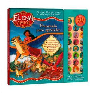 ELENA DE AVALOR -PREPARADA PARA APRENDER- (C/CALCOMANIAS)